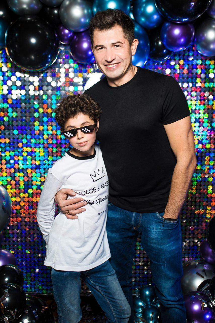 Андрей Джеджула с сыном