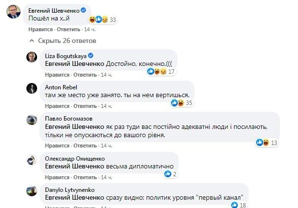 Реакция Шевченко.