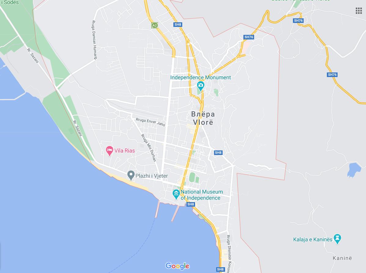 Порт Влера в Албании