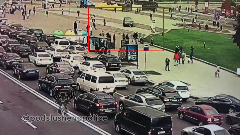 Машина заїхала в пішохідну зону, після чого збила людей