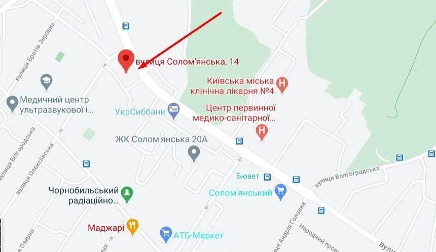 Нападение произошло на улице Соломенской утром 25 октября.