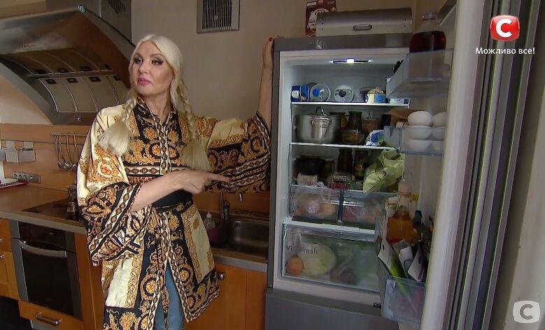 Светлана Вольнова показала, что находится в ее холодильнике