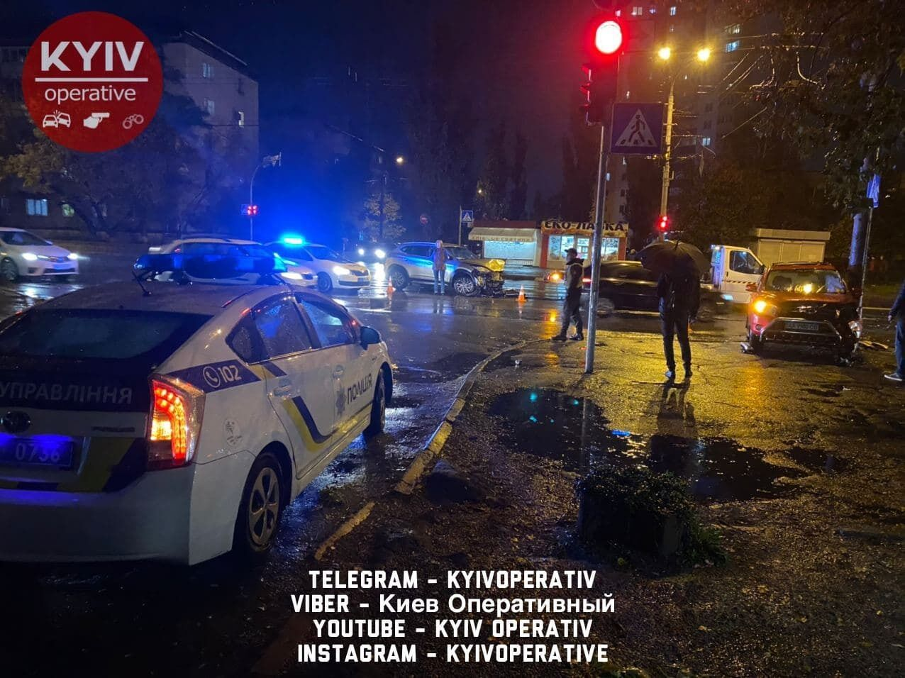 ДТП в Києві на Виноградарі.