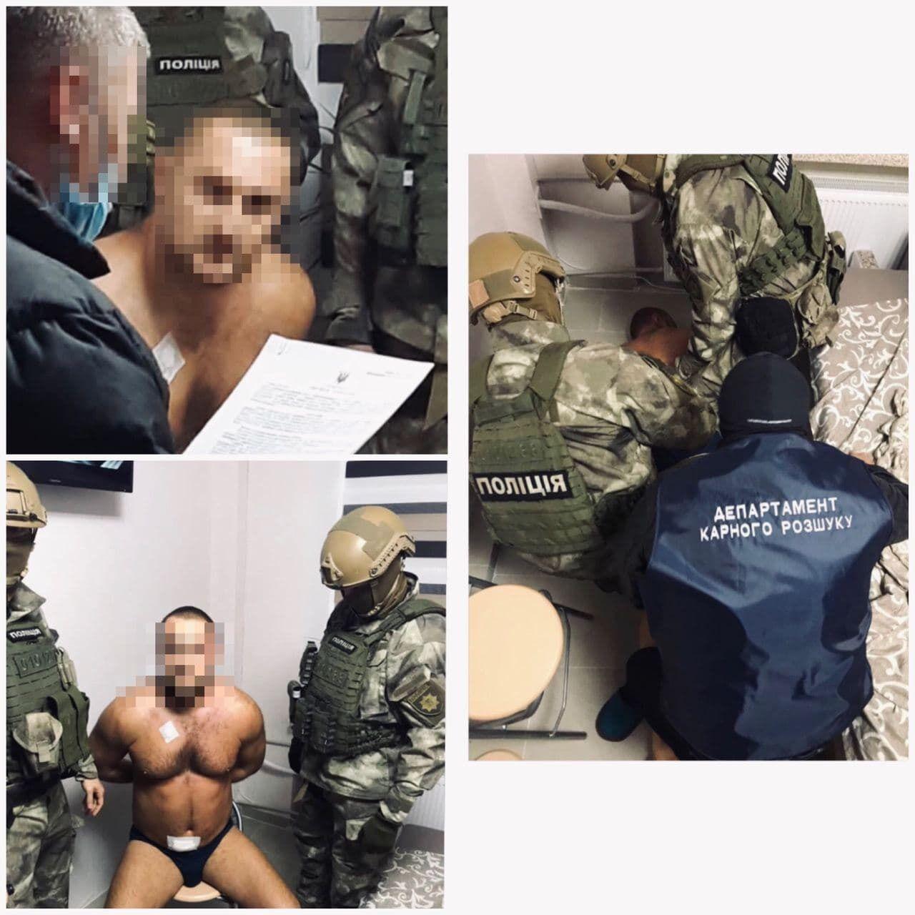 Разбойника поймали в Харькове