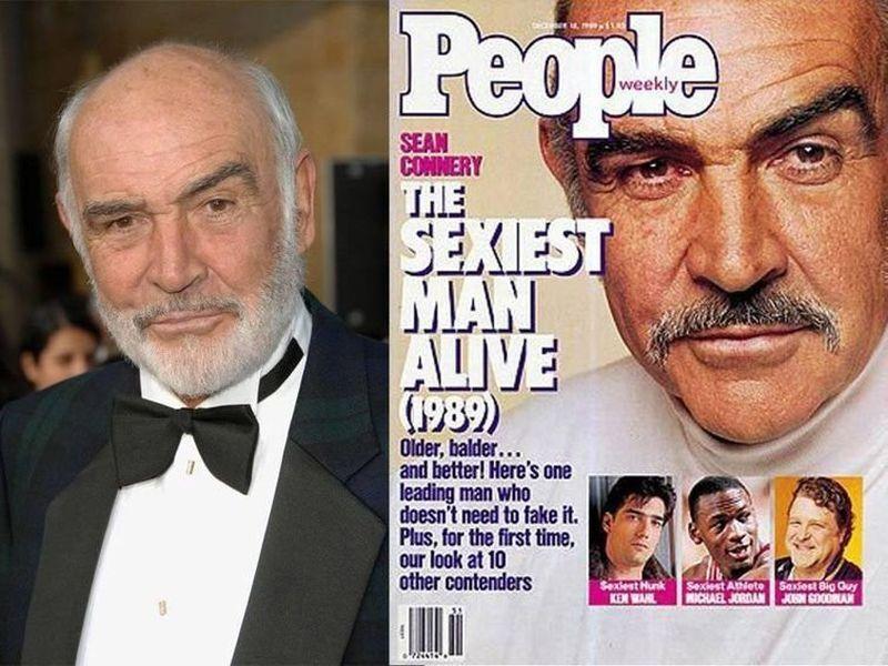 Журнал People визнав Шона Коннері одним з найсексуальніших акторів.