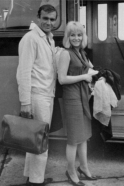 Шон Коннері з першою дружиною Дайан Сіленто.