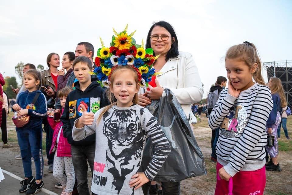 На концерт Поляковой харьковчане пришли семьями