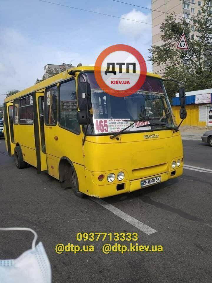 У Києві трапилася смертельна ДТП за участю маршрутки
