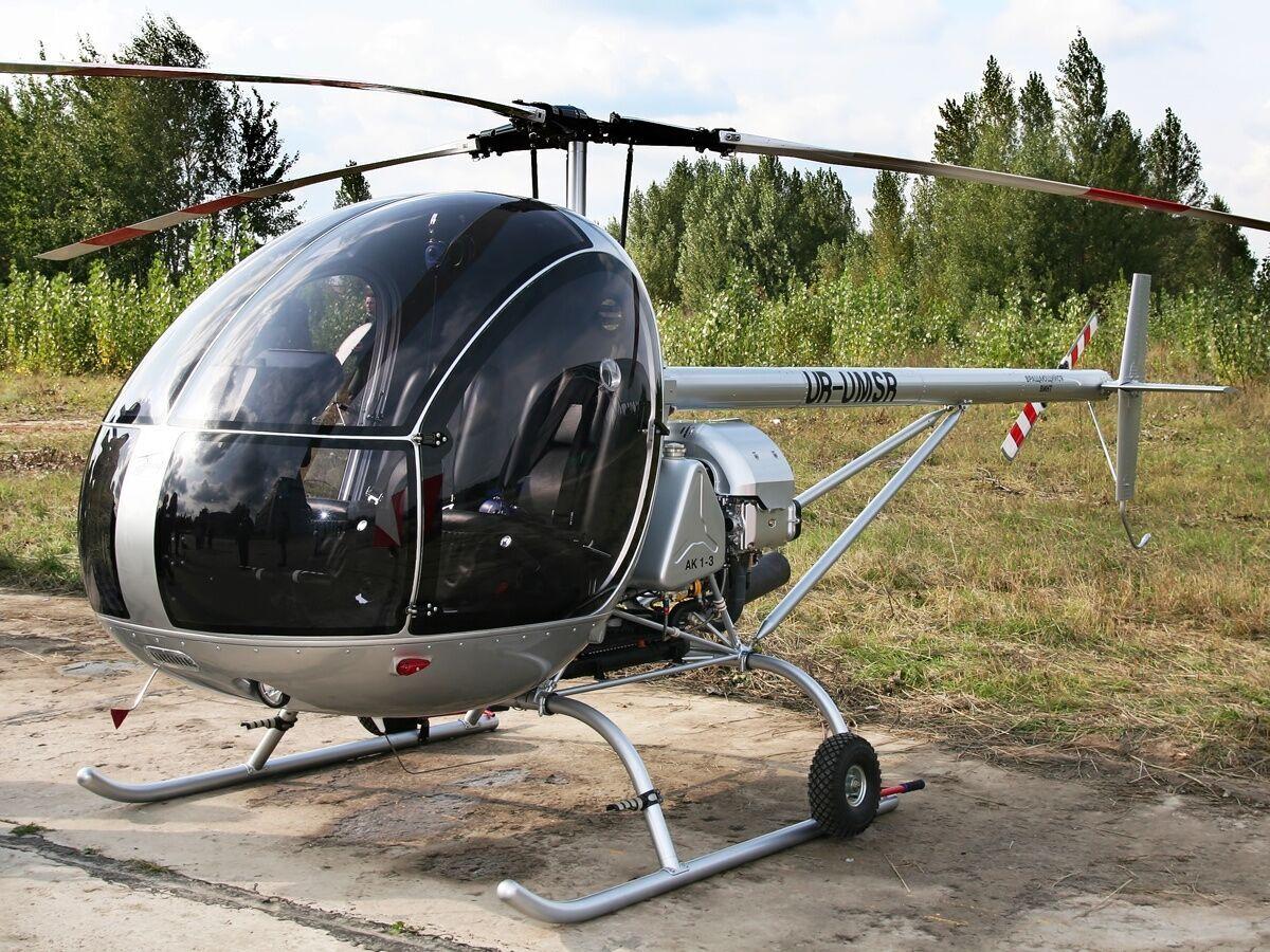 """АК1-3 """"Слава"""" относится к классу легких вертолетов"""