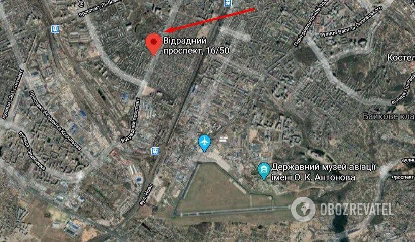 Убийство женщины произошло в Соломенском районе Киева