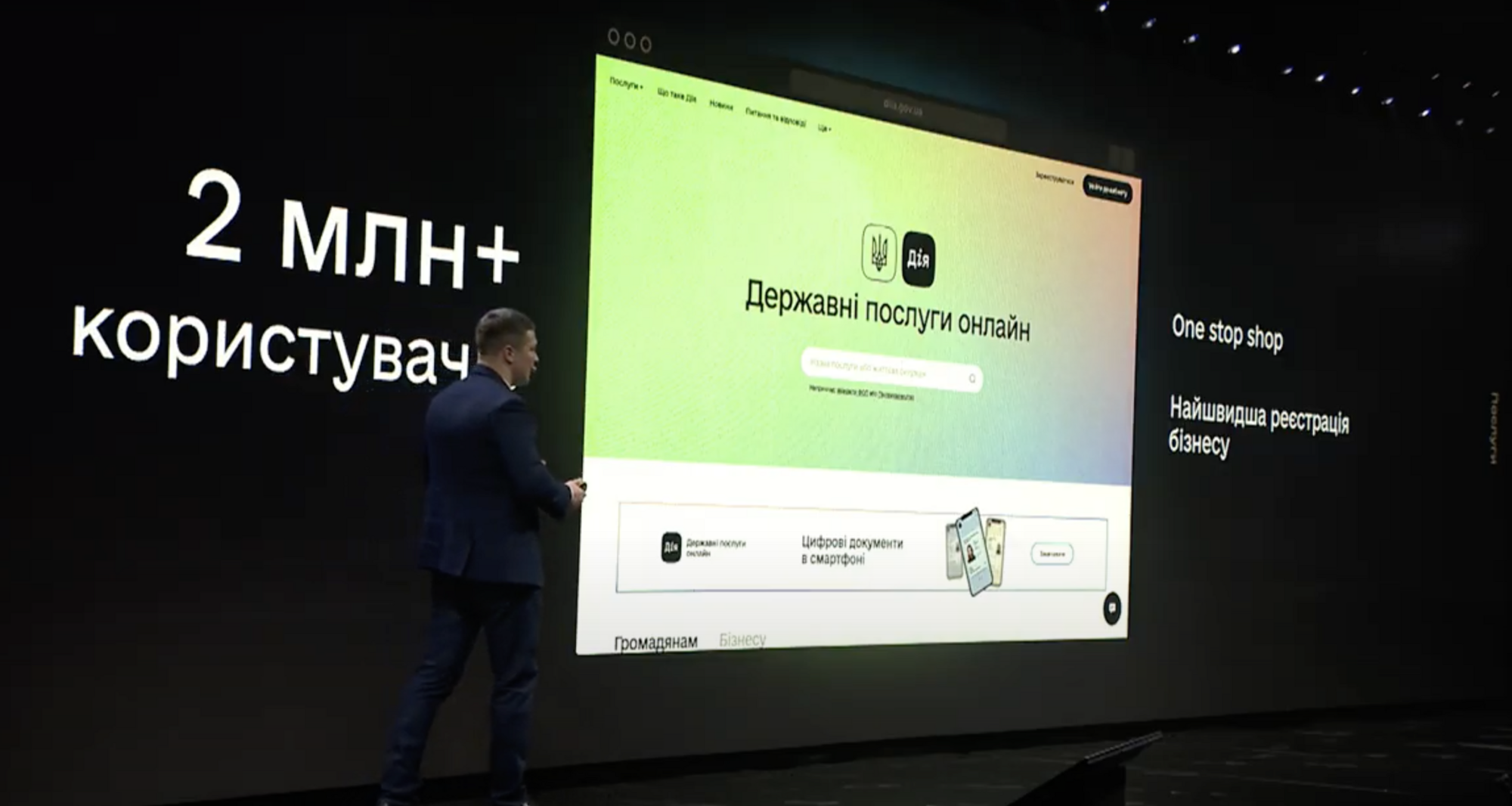 """Федоров презентовал регистрацию ООО в """"Дии"""""""
