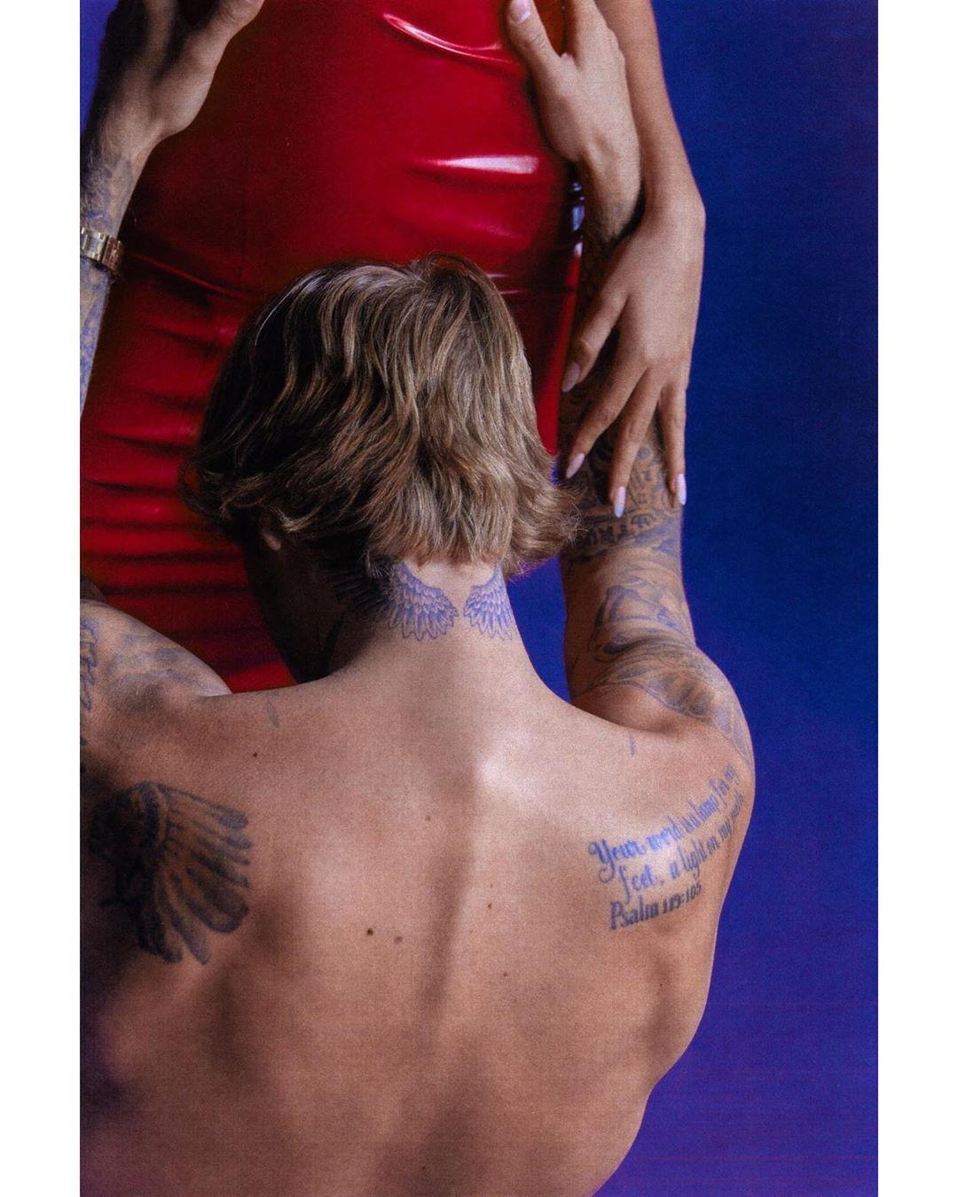 Пара снялась в фотосессии от Vogue Italia.