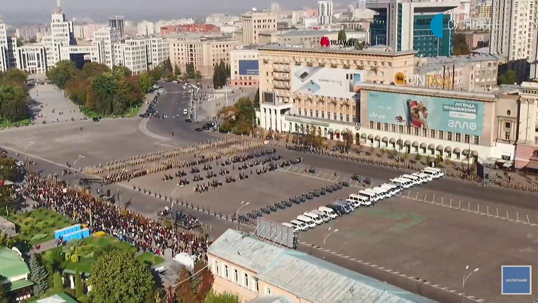 На Площі Свободи зібралися військові і близькі загиблих в Ан-26.
