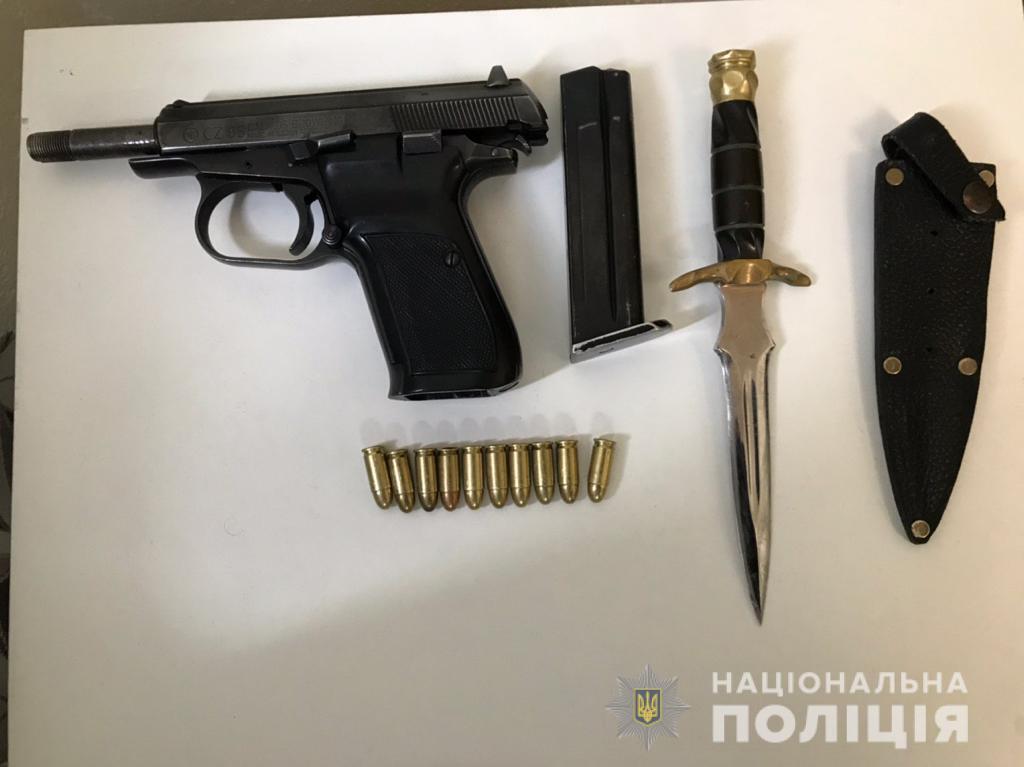 Оружие одного из членов группировки.