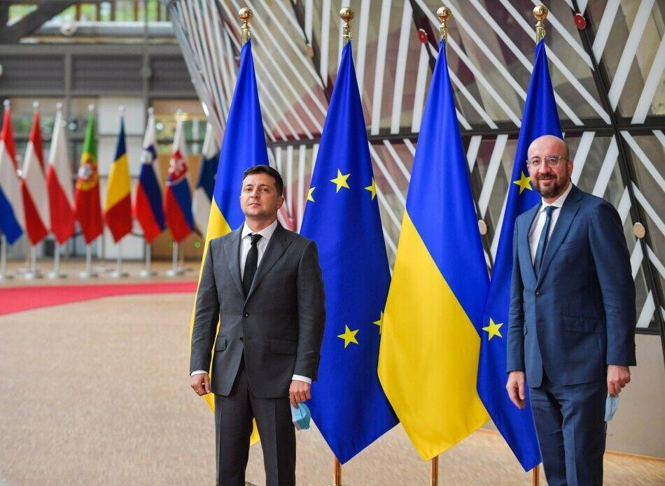 Саммит Украина-ЕС прошел 6 октября в Брюсселе.