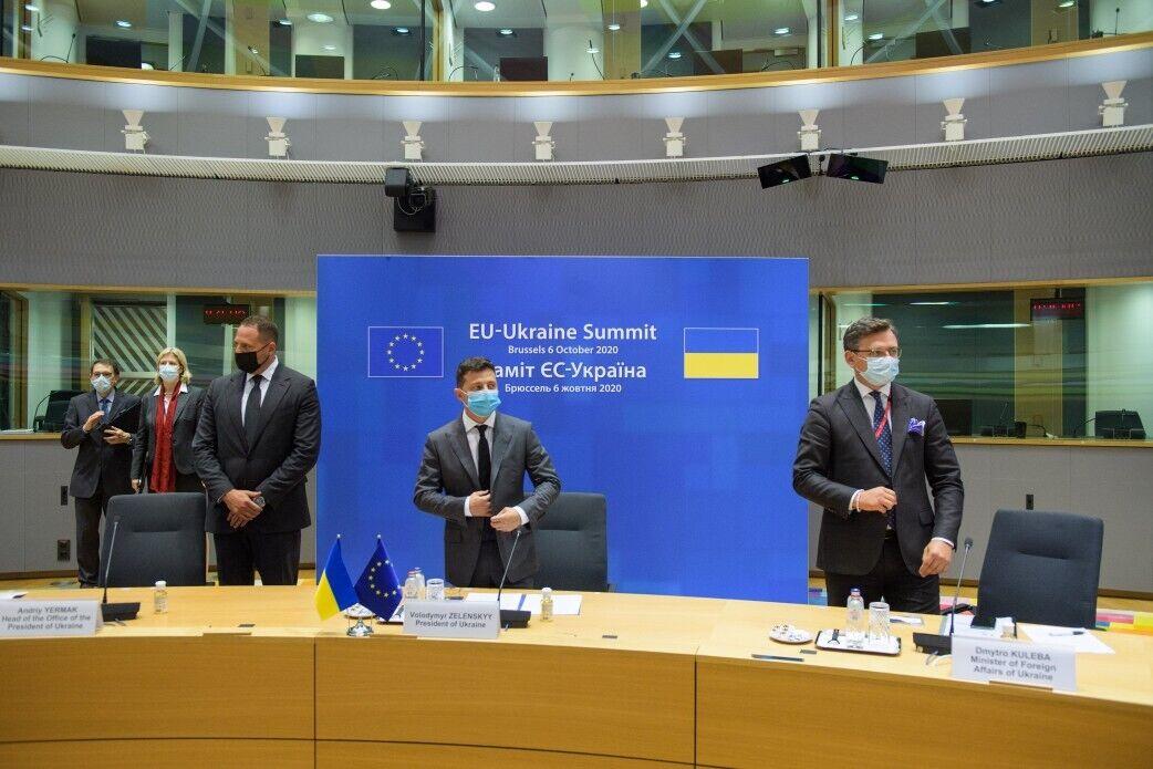 На саммите обсудили политическую и экономическую поддержку Украины со стороны ЕС.