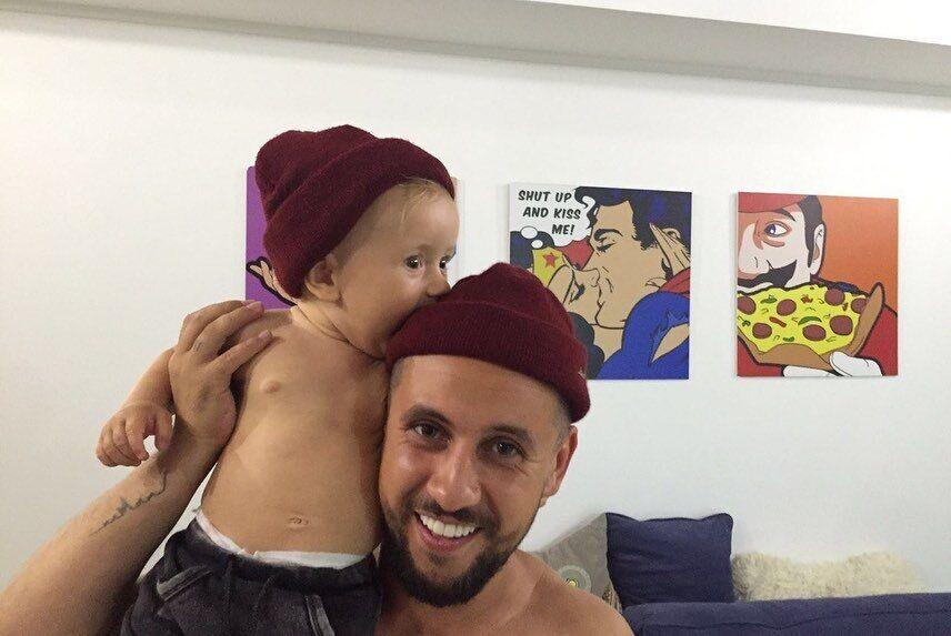MONATIK с сыном Даниилом