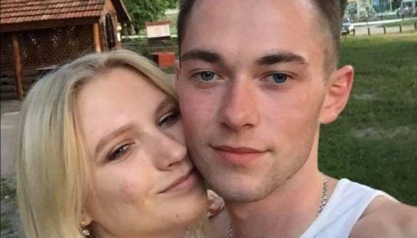 Артем Дудла зі своєю дівчиною.