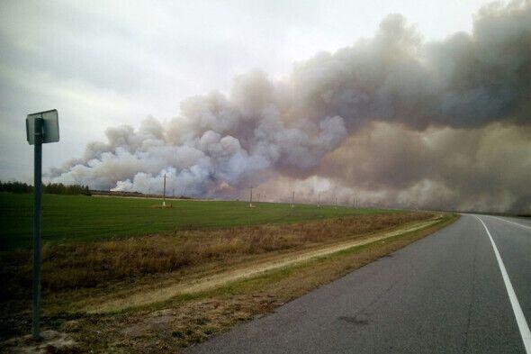 Пожары после взрывов