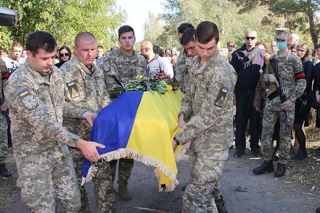 Похороны летчиков в Чугуеве