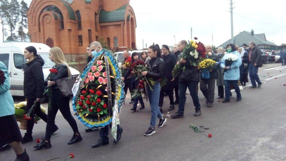 Траурная церемония провела Дмитрия Студинского в последний путь.