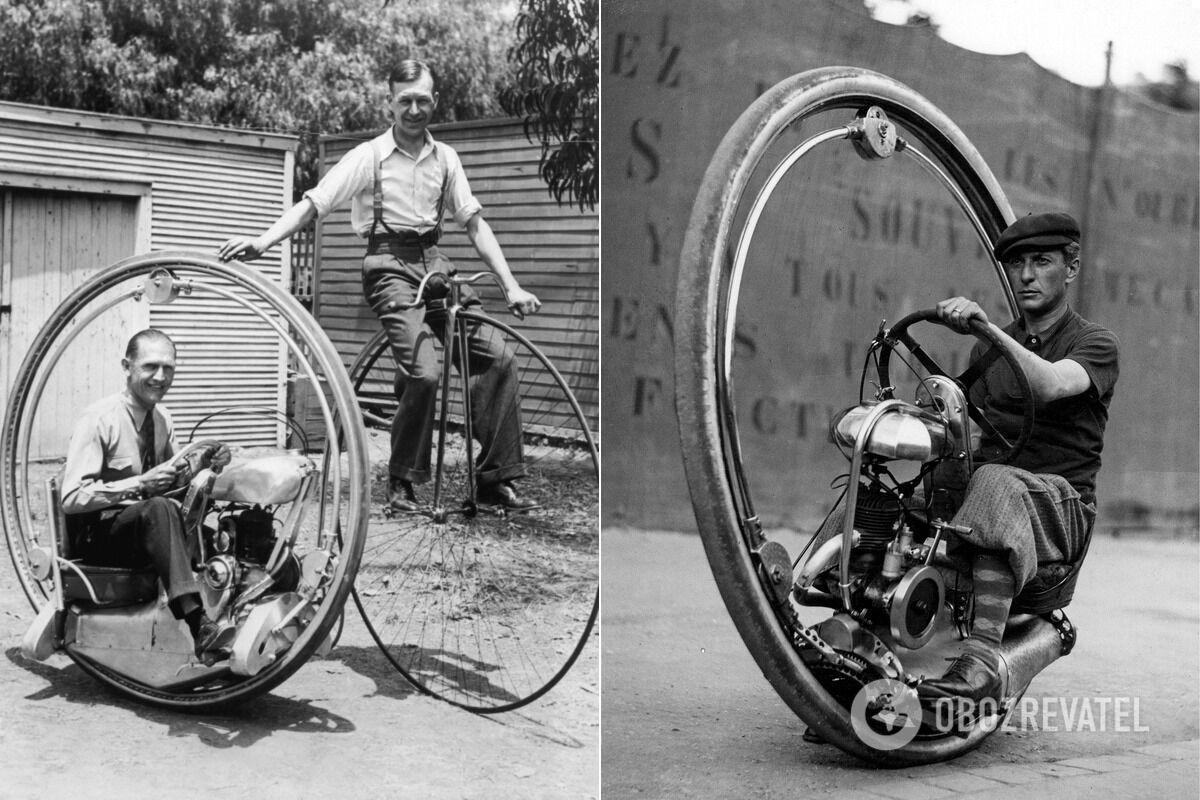 Первый патент на мотор-колесо был получен в 1884 году