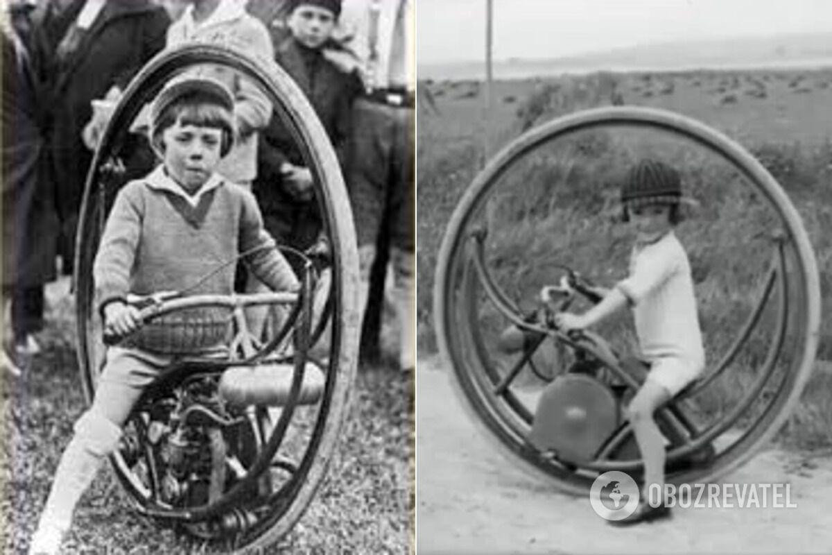 Детское мотор-колесо, 1900-е годы