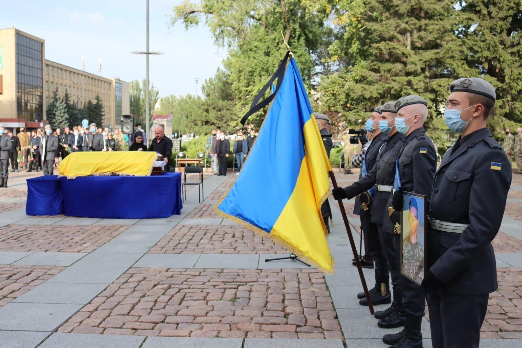 Церемония прощания с курсантами в Николаеве.