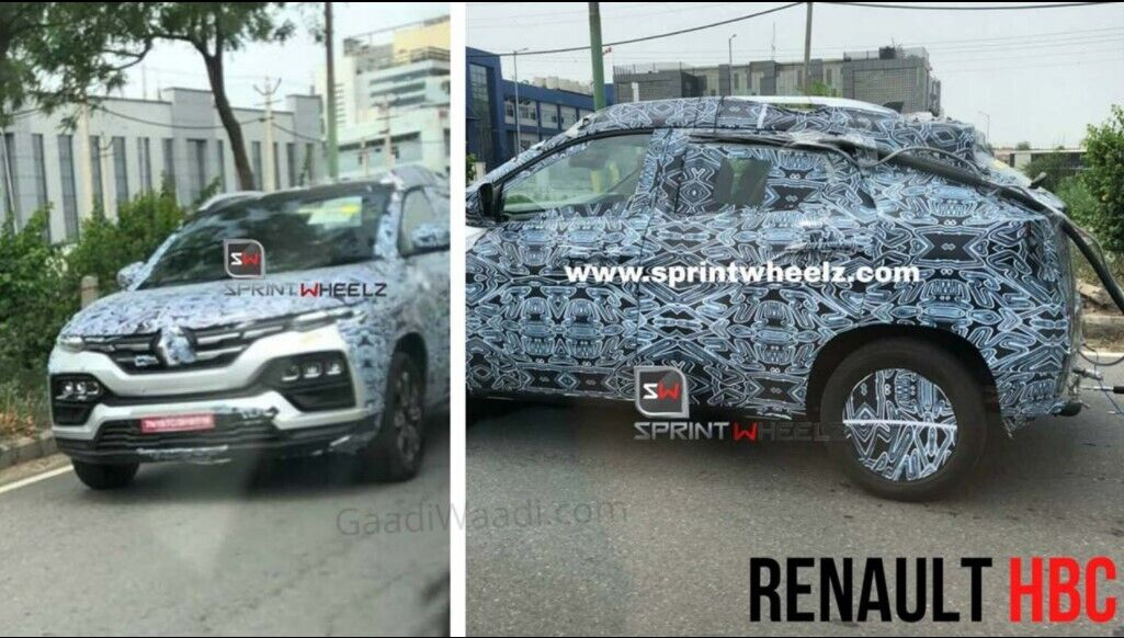Renault Kiger - новый бюджетный кроссовер.
