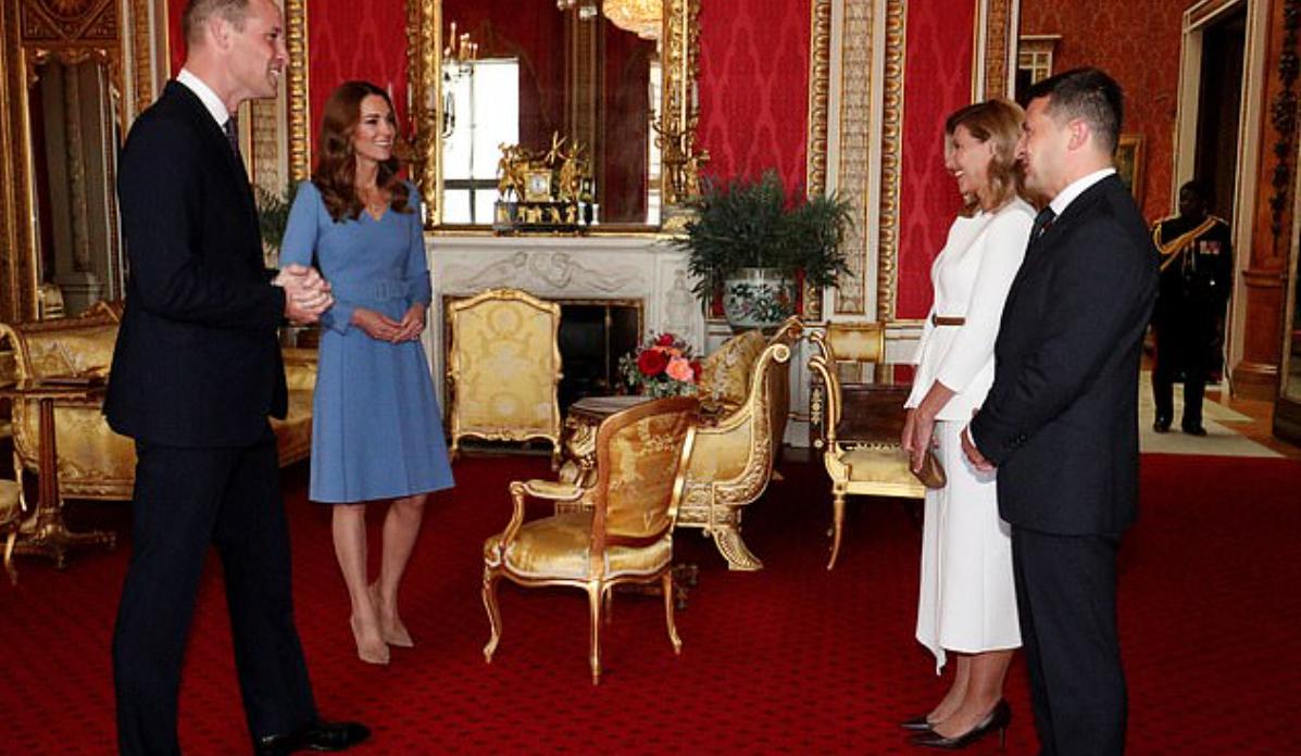 Зустріч президента і першої леді України з Кейт Міддлтон і принцом Вільямом.