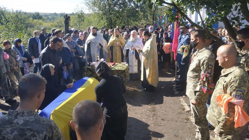 Корчовского и Хомьячука похоронили на родной Виннитчине.
