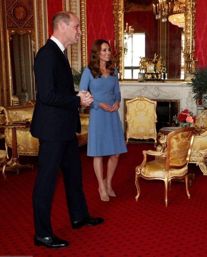 Кейт Міддлтон у сукні від бренду Emilia Wickstead.