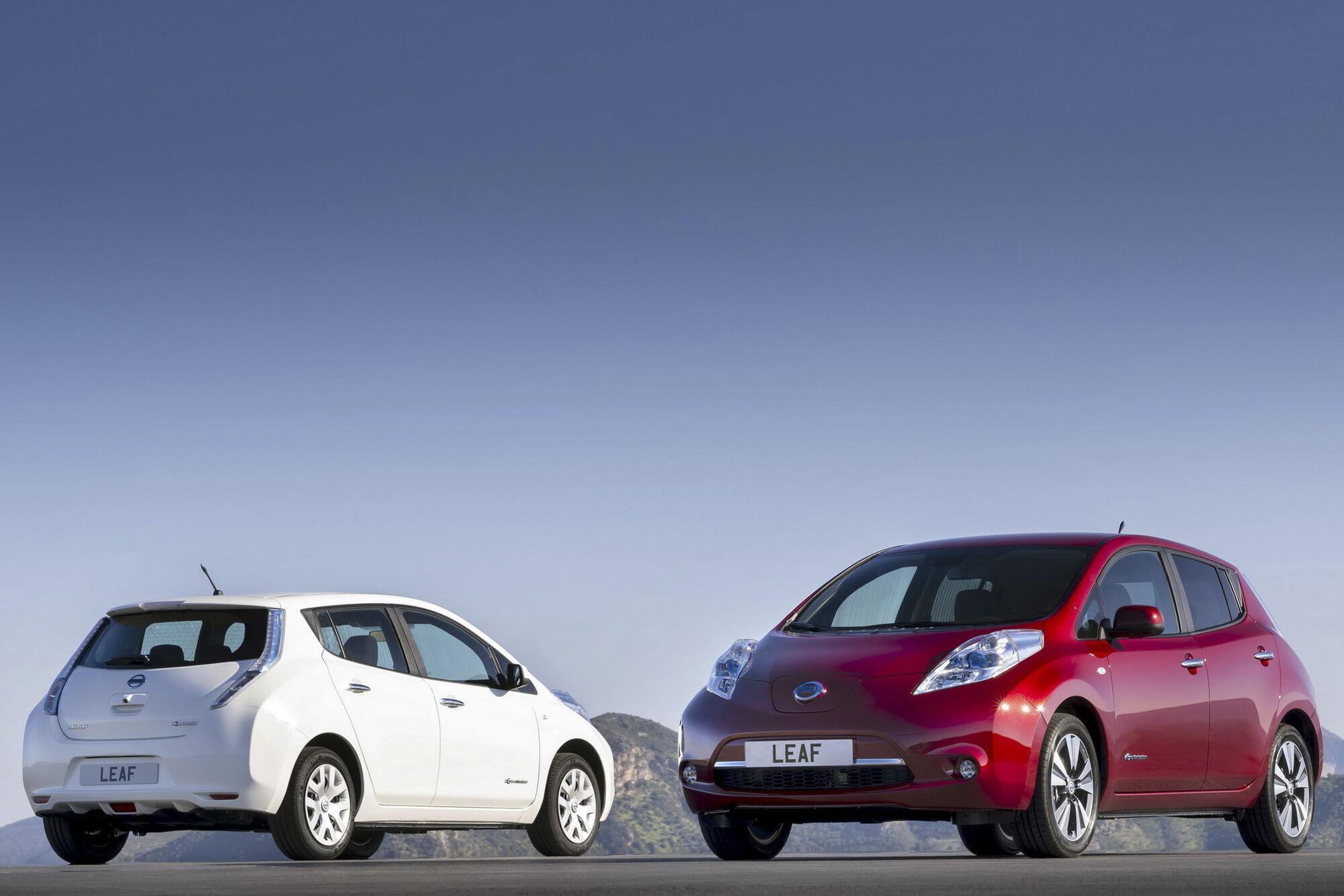 Nissan Leaf является самым массовым электромобилем в Украине. Фото: