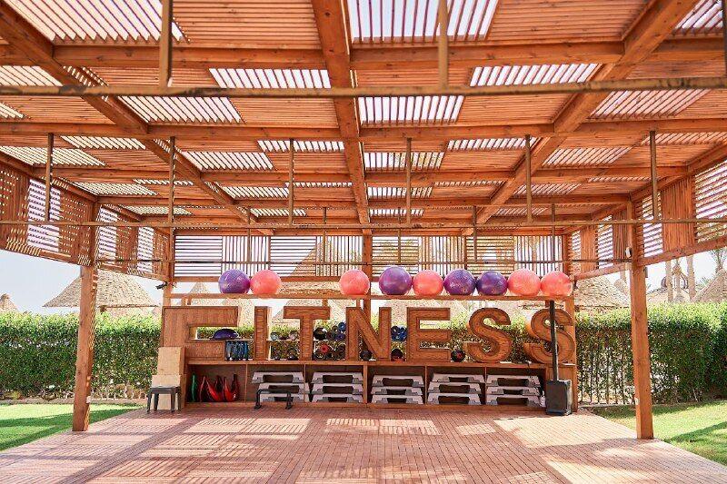 На территории Rixos Sharm El Sheikh уже работает фитнес-центр