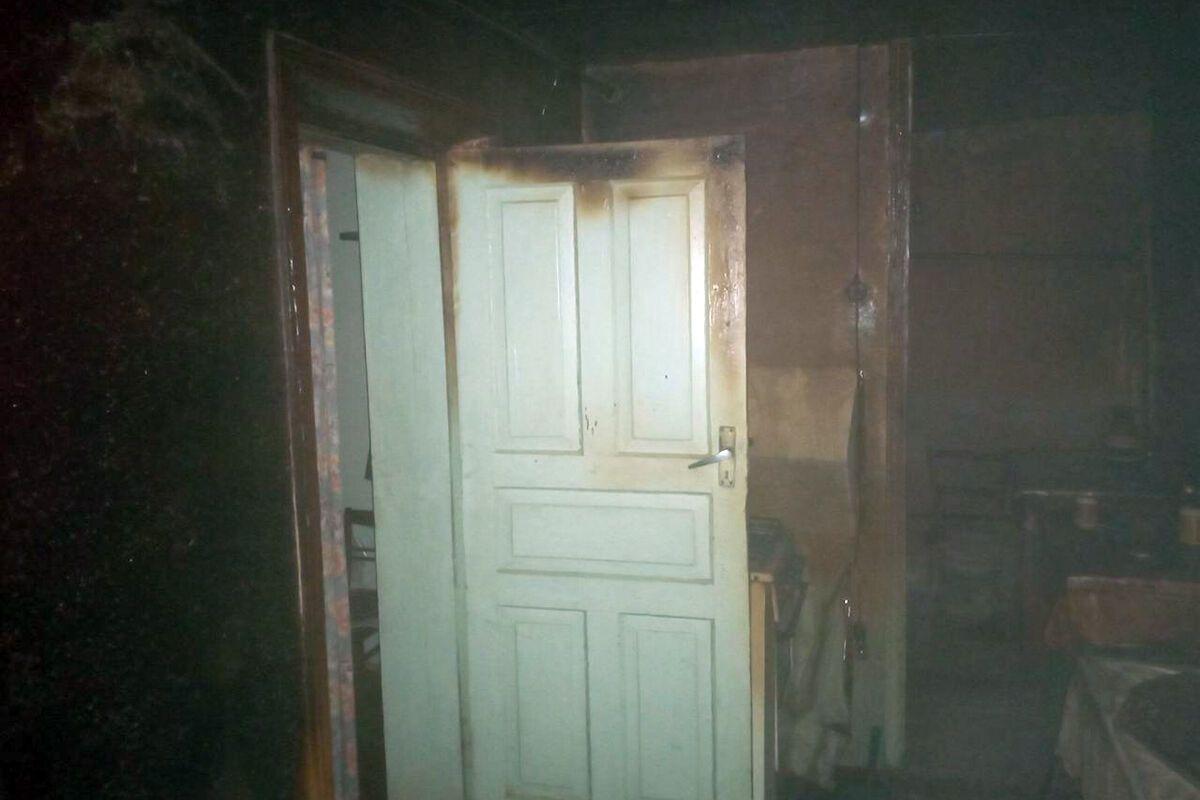 Под Днепром во время пожара погиб 92-летний мужчина