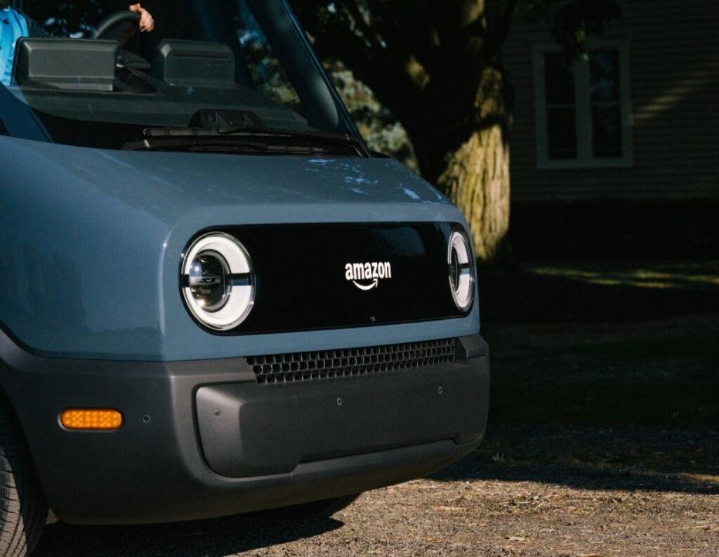 Електричний фургон Rivian для Amazon. Фото: