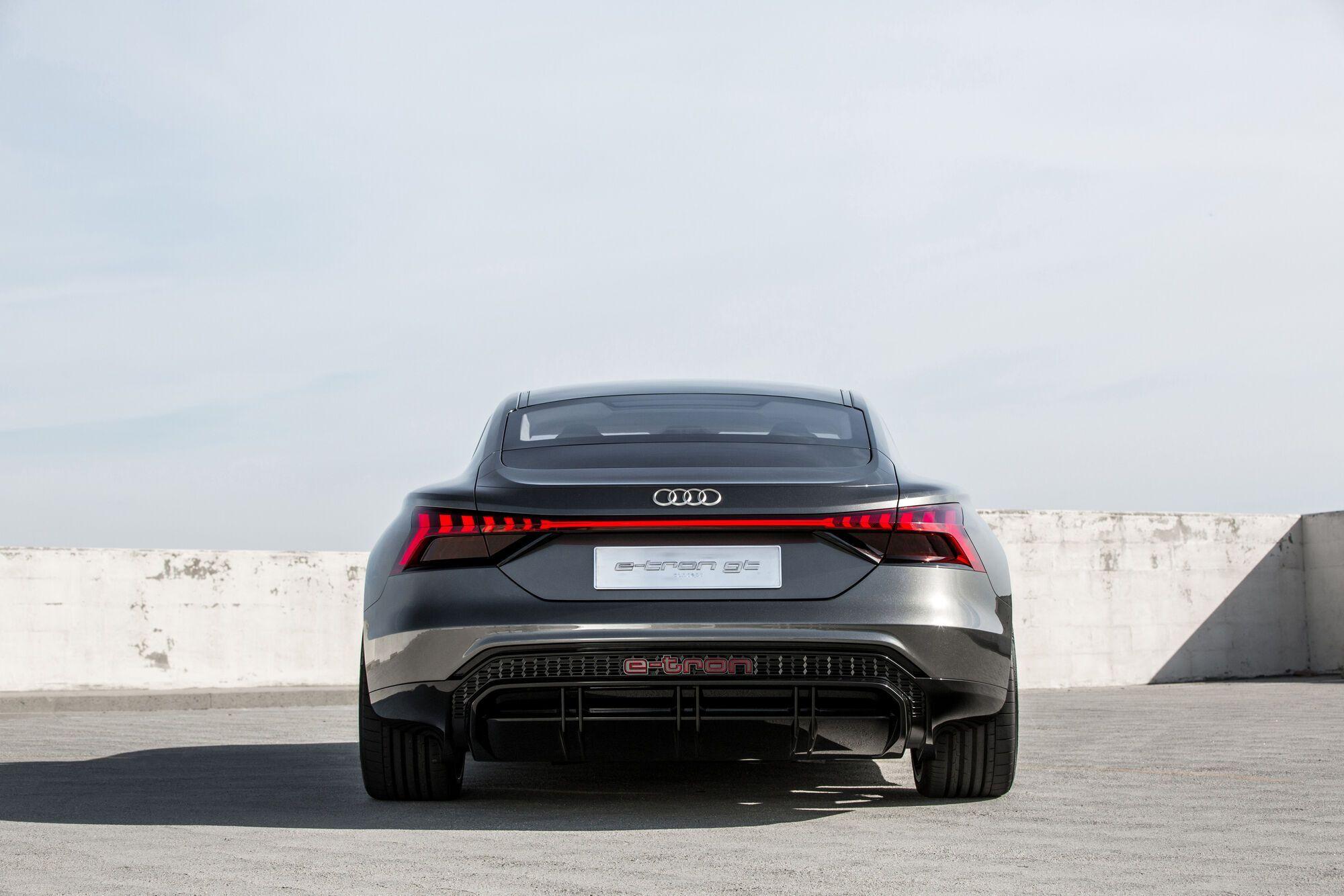 2021 Audi e-tron GT. Фото: