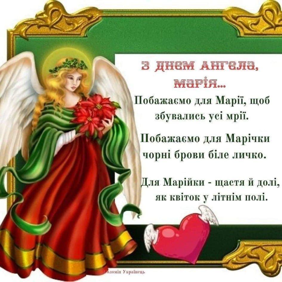День ангела Марии 2020