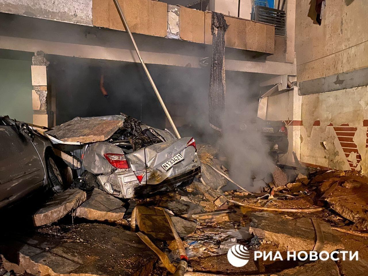 У підвалі пекарні вибухнула ємність із пальним.