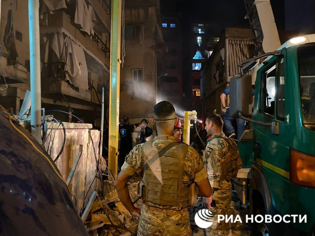 У район катастрофи перекинули ліванських військових