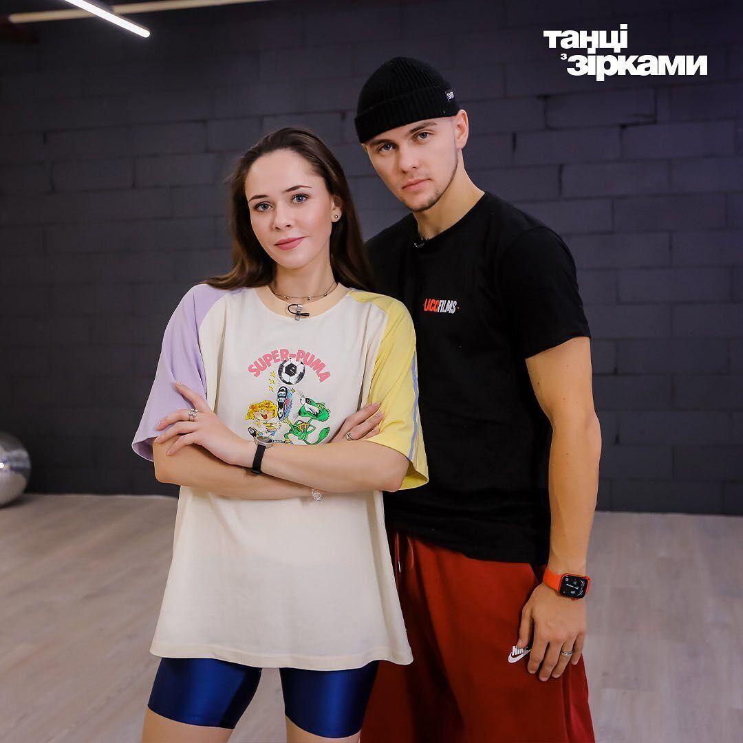 Юлия Санина и Илья Падзина