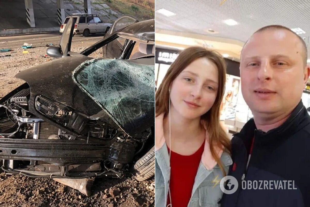 В ДТП погибли отец и дочь Азаренковы