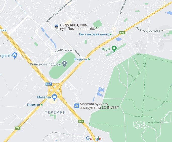 ДТП сталася між автовокзалом і Одеською площею.