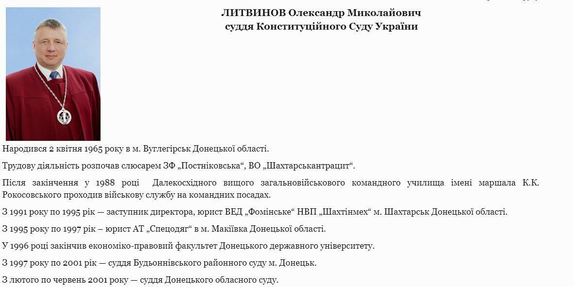 Биография Александра Литвиинова.