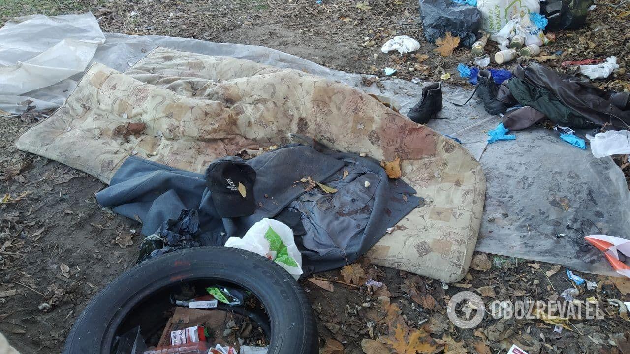 Розкидане сміття