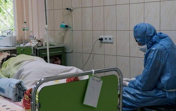 Лікарні України завантажені хворими на ковід