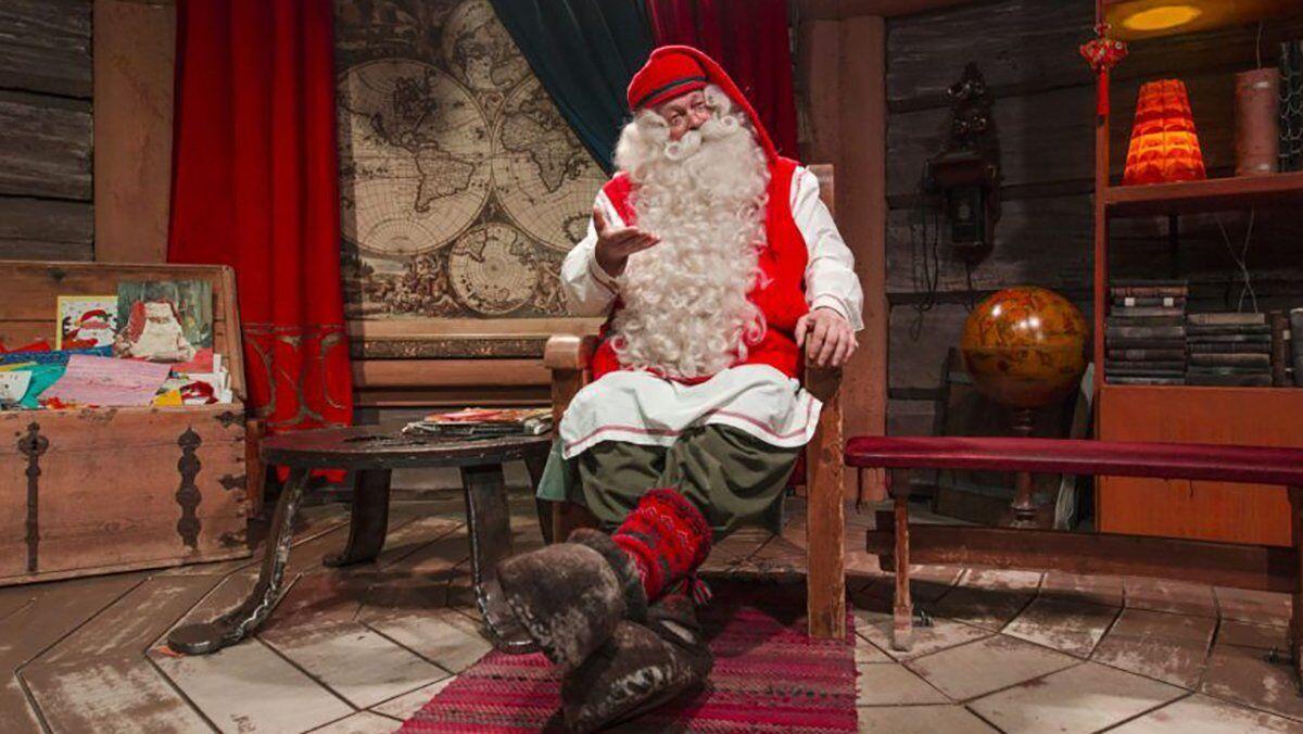 Санта-Клаус официально открыл рождественский сезон