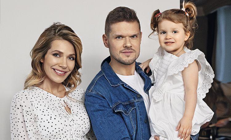 Тоня Паперна з чоловіком Володимиром Ягличем і донькою Євою