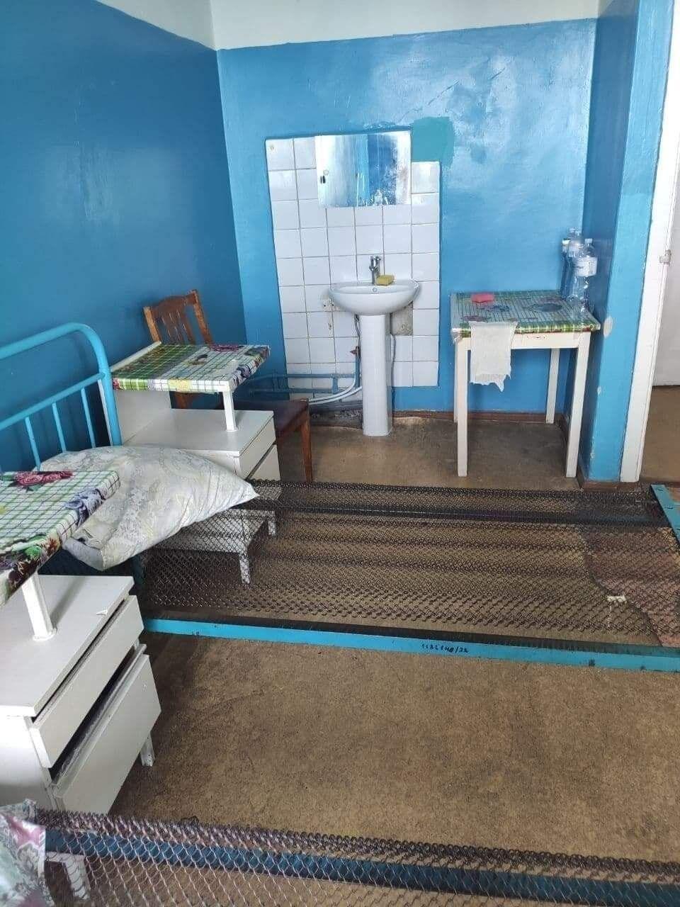 Палата для хворих на коронавірус.