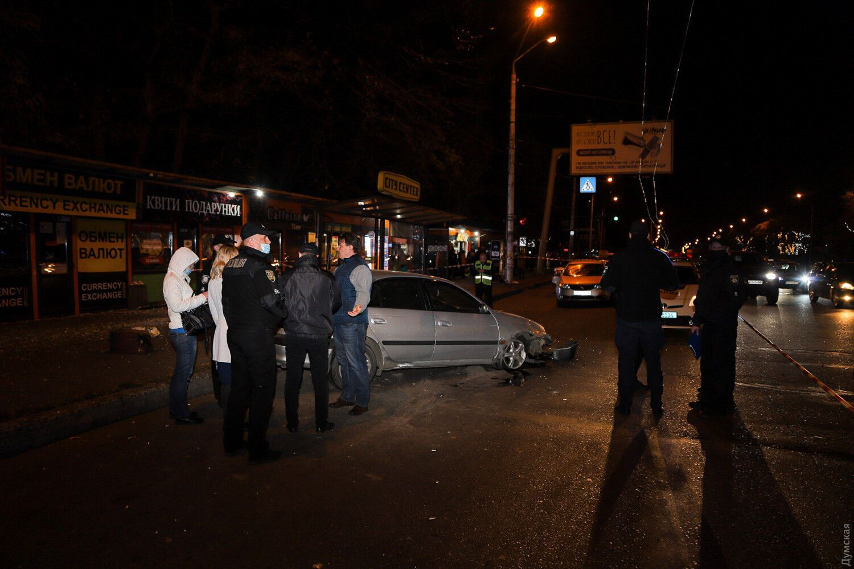 В Одессе произошла авария с пострадавшими
